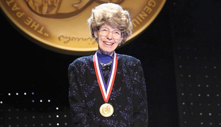 The National Inventors Hall of Fame inducted Mary-Dell Chilton on May 5 as part of its 2015 class for her work on transgenic plants.