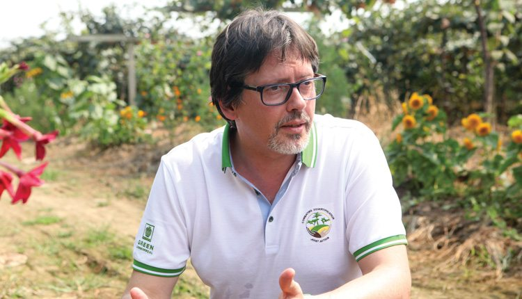 Romano De Vivo, head of environmental policy for Syngenta, was instrumental in beginning the company's Operation Pollinator program in Europe more than 15 years ago.